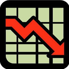 Foreclosures Down Arrow